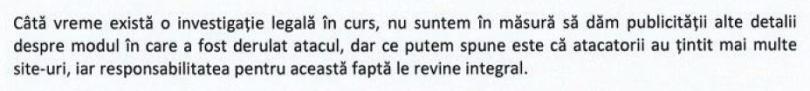 Raspuns ARTEXIM
