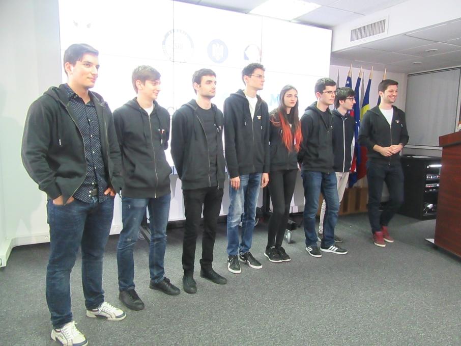 Echipa Romaniei la Campionatul European de Securitate Cibernetica