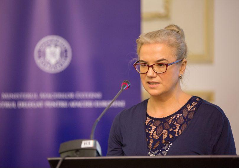 Alina Bargaoanu, la conferinta IER