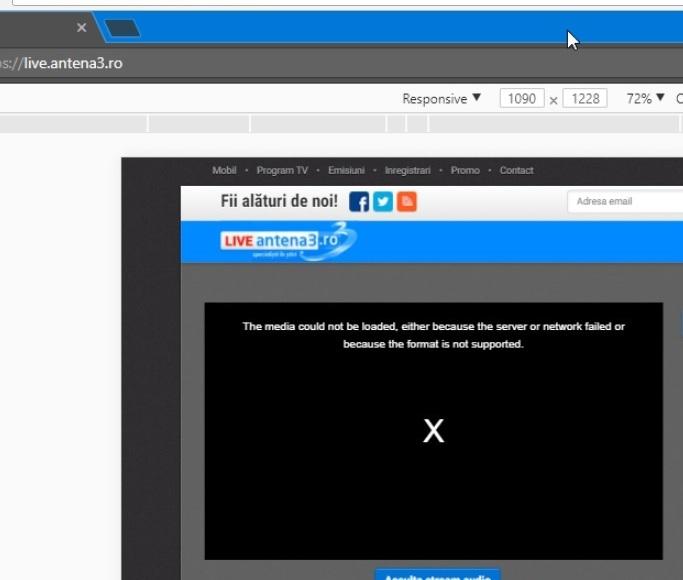 Atac cibernetic la Antena 3  Cryptojacking în pagina de live video